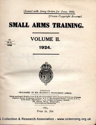 small arms training manuals the vickers machine gun rh vickersmg blog