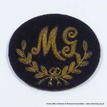 Bullion embroidered for No 1 Dress