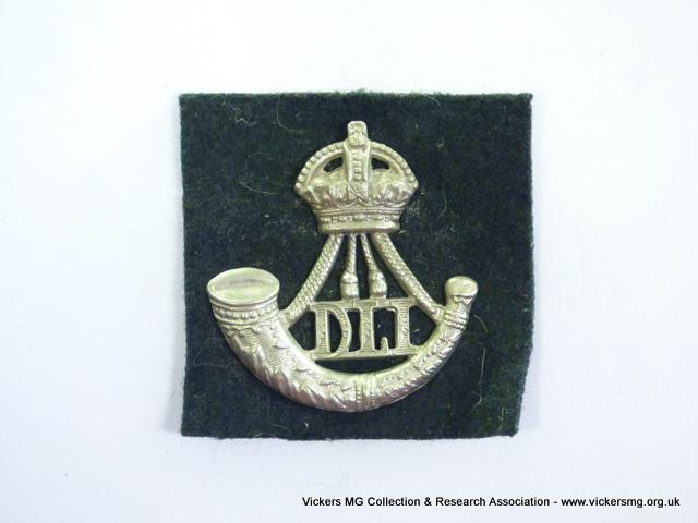 Durham Light Infantry (backed)