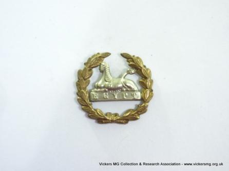 Gloucestershire Regiment (back badge)