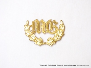 Australian brass badge