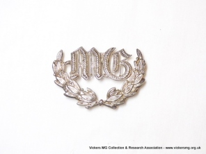 Australian white-metal badge