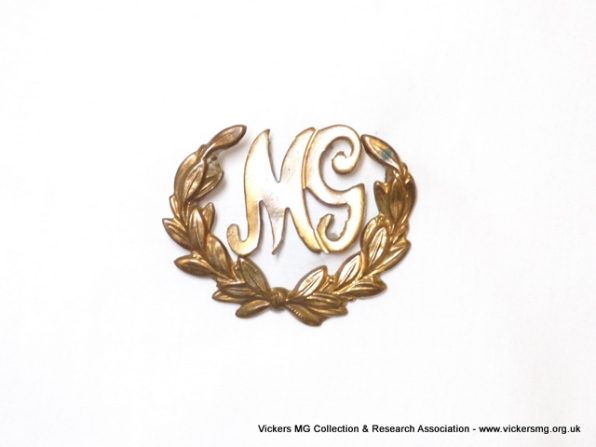 British brass badge