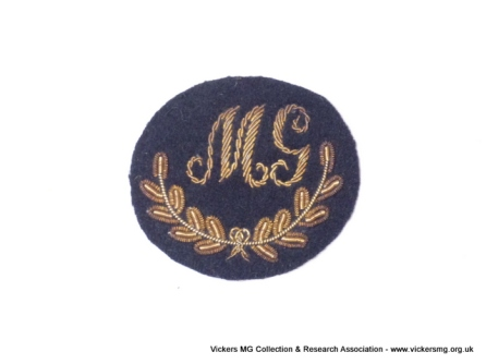 Bullion embroidered for No 1 dress or 'Blues' uniform